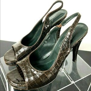 Donald JPliner Couture Canna Slingback Patent Heel